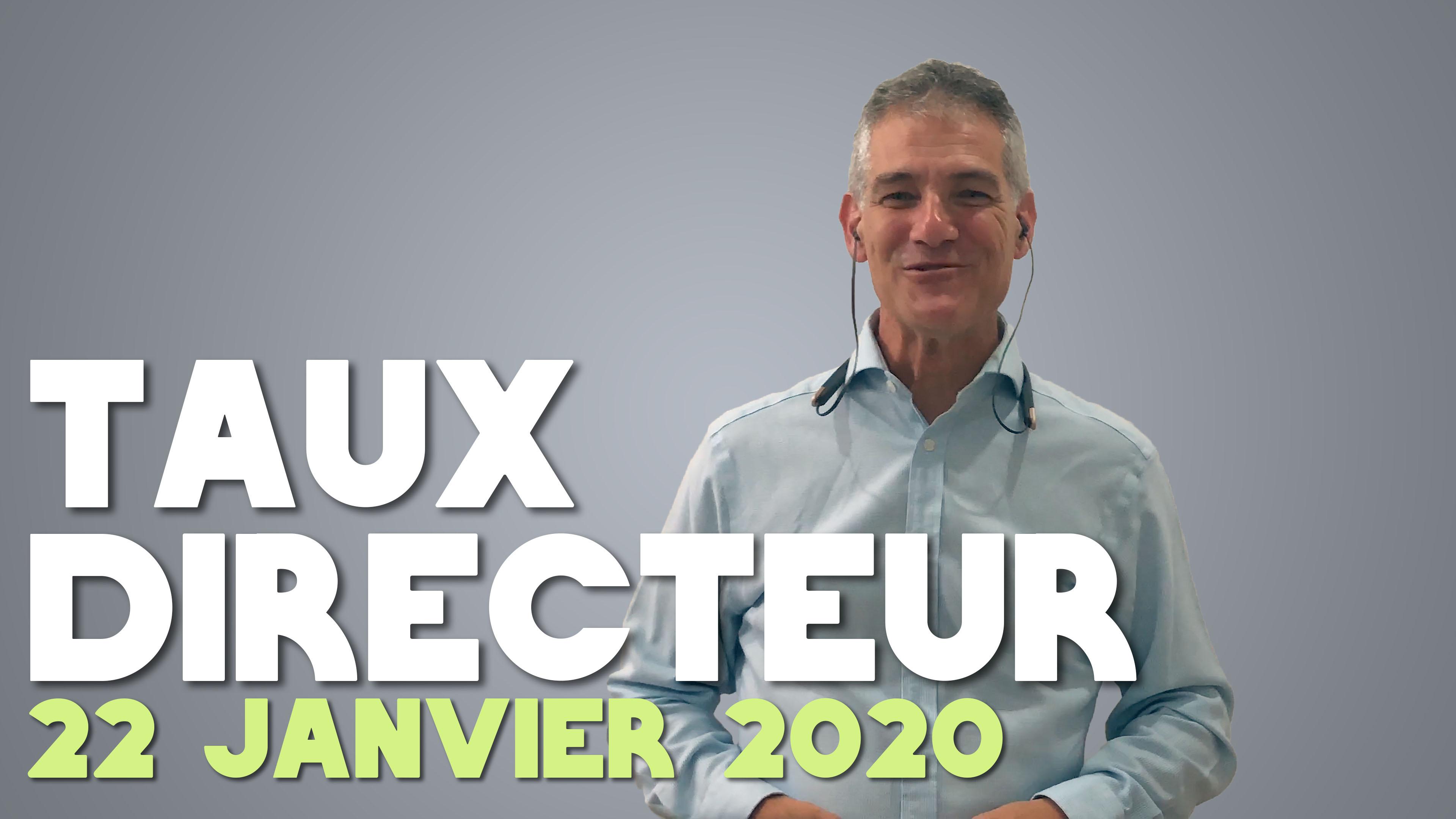 Taux Directeur Janvier   Christian Pomerleau