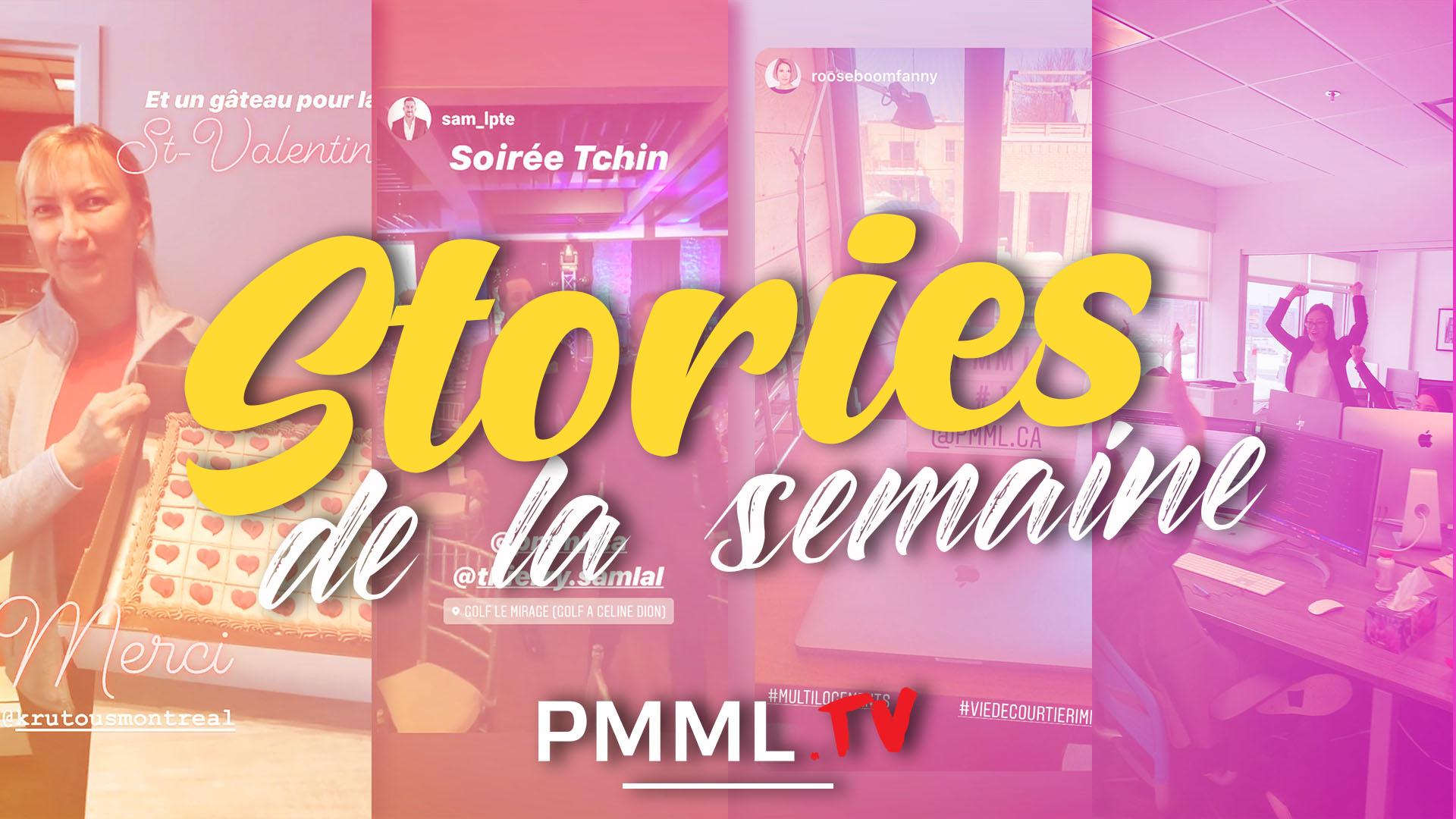 équipe pmml_stories de la semaine_pmml